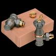Запорная трубопроводная арматура SR Rubinetterie для чугунных радиаторов