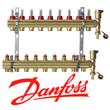 Оборудование для водяного теплого пола Danfoss