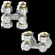 Клапаны Heimeier Multilux для радиаторов с нижним подключением