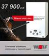 Новинка! Газовый настенный комбинированный котел Wolf FGG-К-24